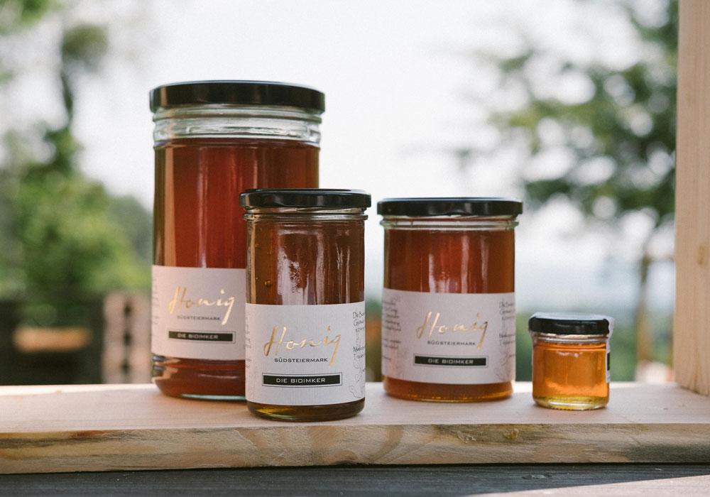 Honig Auswahl