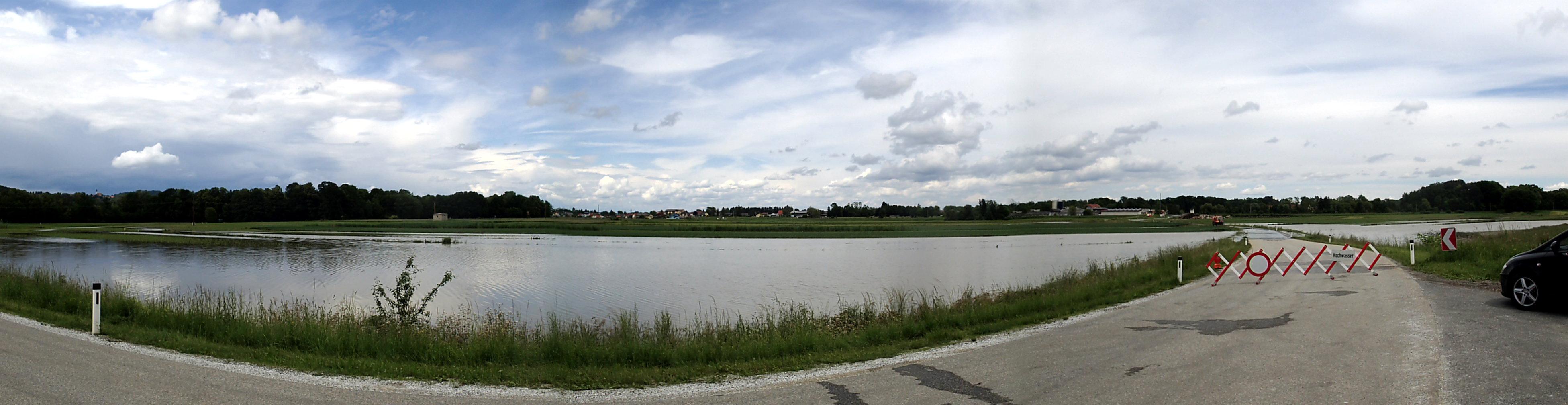 Überschwemmungen Leibnitz Mai 2018