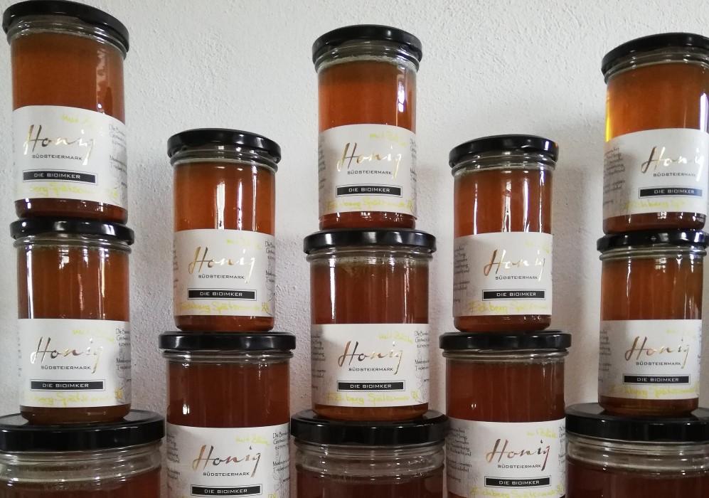Honigtauhonig mit Blütenhonig